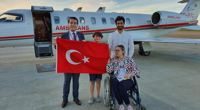Beyninde tümör bulunan Türk vatandaşı Norveçten Türkiyeye nakledildi