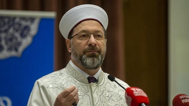 Diyanet İşleri Başkanı Erbaş, GKRYdeki cami saldırısını kınadı