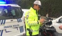 81 ilde motosiklet ve kask denetimi: 4 bin 686 sürücüye ceza