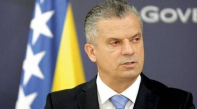 Bosna Hersek Güvenlik Bakanı Radoncic istifa etti