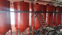 Mersin'de 23 bin litre menşesi belli olmayan yağ ele geçirildi