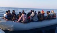 Aydın açıklarında 43 düzensiz göçmen yakalandı