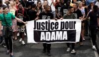 Fransızlar da adalet için sokağa döküldü