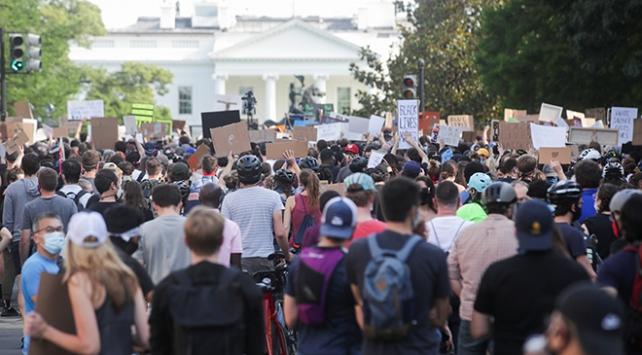 ABDde ırkçılığa karşı öfkenin 8. günü
