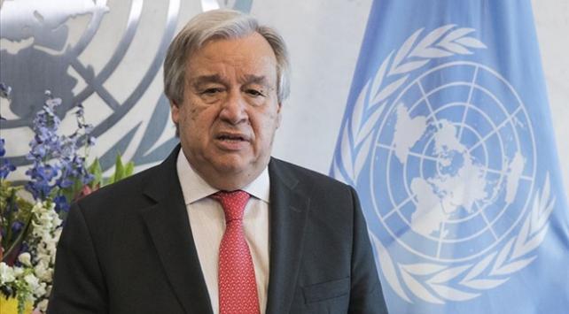 Guterres: BMnin merkezi New Yorkta şiddet olayları görmek çok üzücü