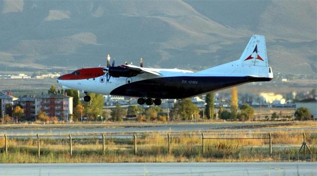 Ermenistan Uçağı Suriyeye Hareket Etti