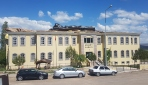 Sivasta adliye binasının çatısı böyle uçtu