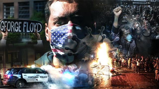 ABD'de protesto gösterileri salgının boyutunu nasıl etkileyecek?