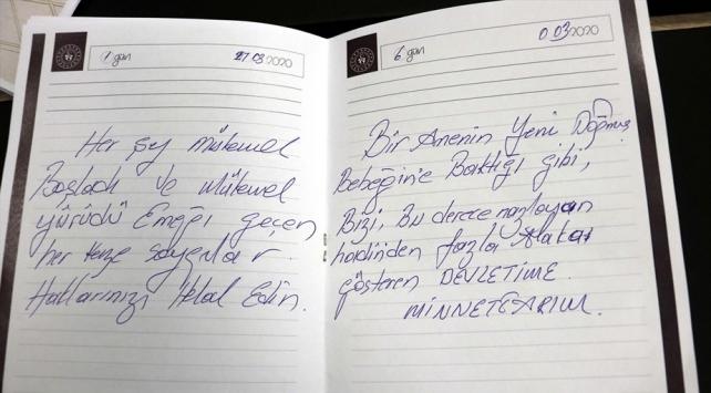 Karantina yurtlarından geriye mektuplar kaldı: Devletime minnettarım