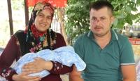 Kaza geçirdi, bebeği kurtuldu: Kendisine çarpan sürücüye teşekkür etti