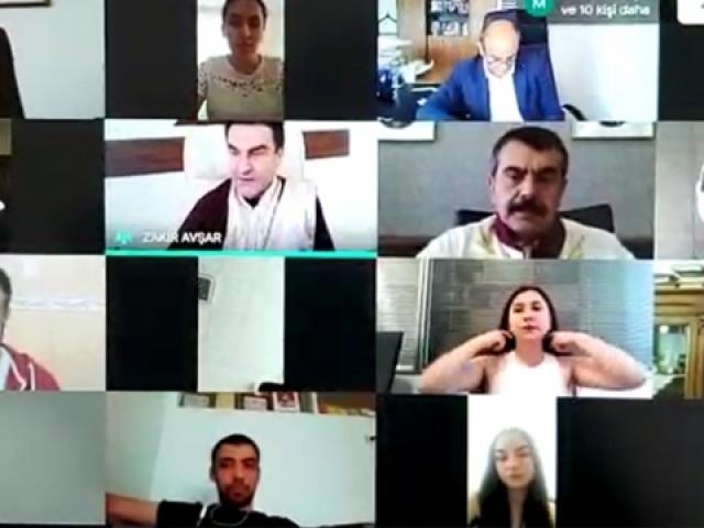 Türkiyenin ilk dijital mezuniyet töreni