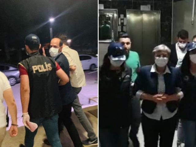 Milletvekilliği düşürülen HDPli Güven ve Farisoğulları gözaltına alındı