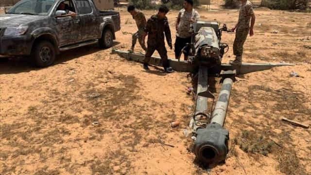 Libya ordusu Hafter milislerinin bıraktığı savaş helikopterini ele geçirdi
