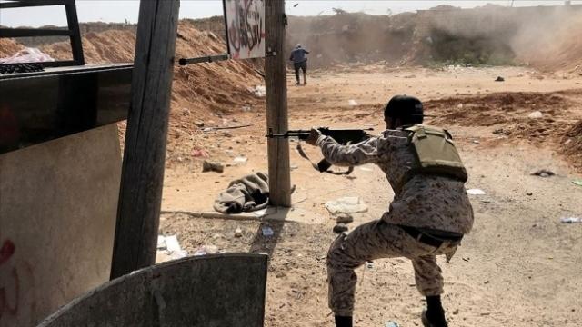 Libya Ordusu Terhune kentini kontrol altına aldı