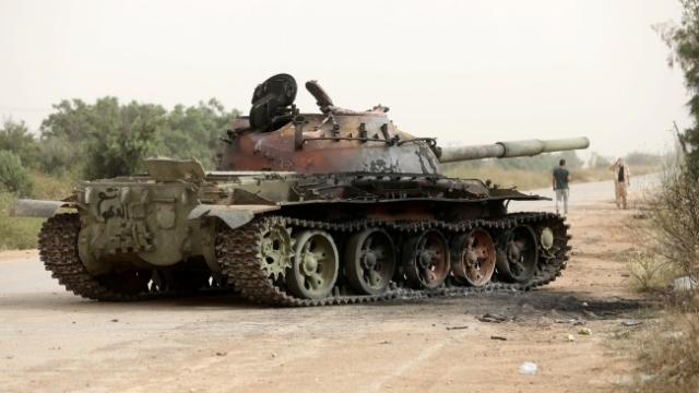 Libya Ordusunun kontrol altına aldığı Tarhune'nin önemi