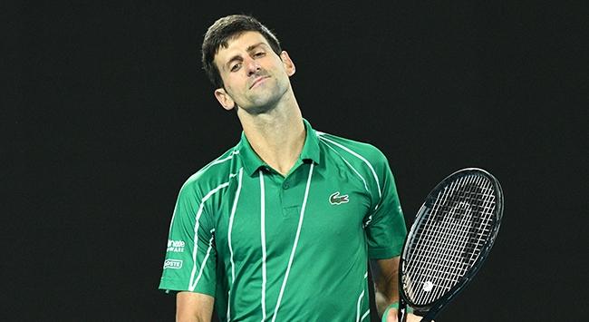 Novak Djokovicin koronavirüs testi pozitif çıktı