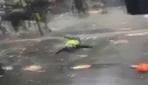 Londradaki protestolarda polis attan düştü, at göstericiyi yaraladı