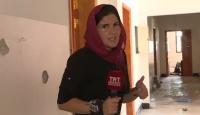 Libya'daki Yermuk Kampı'na ilk kez TRT Haber girdi