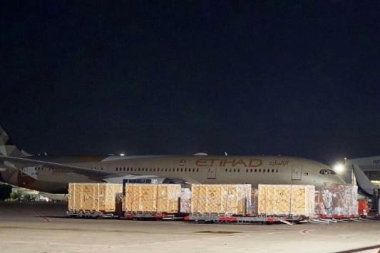 BAEye ait Etihad Airwaysin uçağı bir kez daha İsraile indi