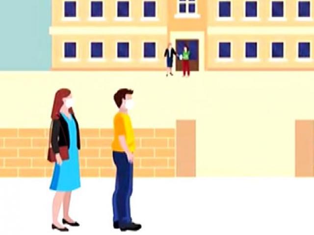 ÖSYMden 2020 MSÜ için alınan önlemlerle ilgili animasyon
