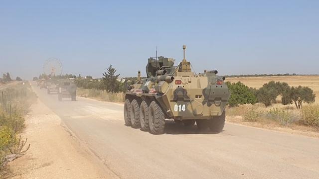 İdlib'de 16. devriye gerçekleştirildi