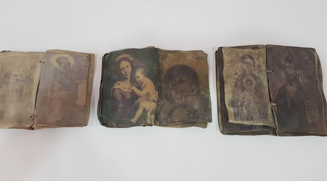 Kırıkkalede Hristiyanlığın ilk dönemlerini anlatan 3 dua kitabı ele geçirildi