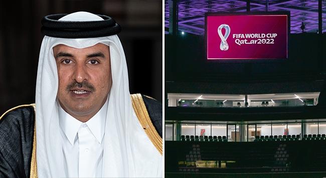 Katar Emiri Al Sani: Dünya Kupasını sabırsızlıkla bekliyoruz