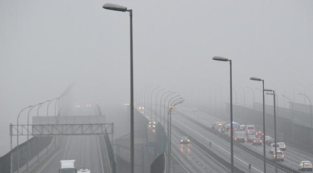 İstanbulda sis kazaya neden oldu