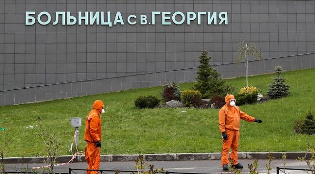 Rusyada koronavirüs vaka sayısı 545 bini geçti