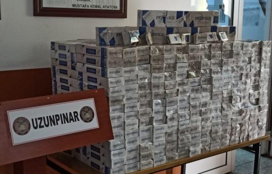 MSB: Hatay ve Van hududunda 12 bin 758 paket kaçak sigara ele geçirildi