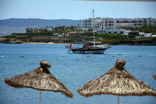 Bodrumda oteller yerli turistle hareketlendi