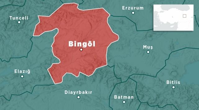 Bingölde 4,3 büyüklüğünde deprem