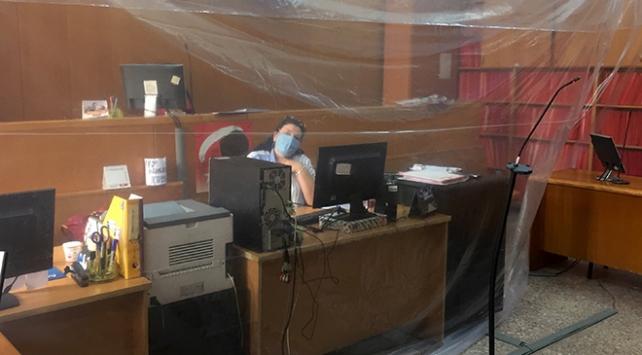Ankara Adliyesinde koronavirüse brandalı önlem