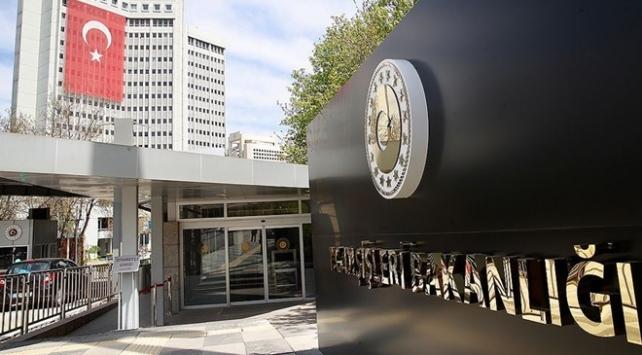 Türkiyeden Arap Ligi Genel Sekreterine tepki
