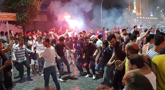 Trabzonda final coşkusu