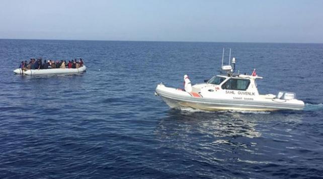 Bodrumda Türk kara sularına geri itilen sığınmacılar kurtarıldı