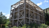 Bilecik'te heyelan tehdidi altındaki 700 yıllık imarethane taşınacak