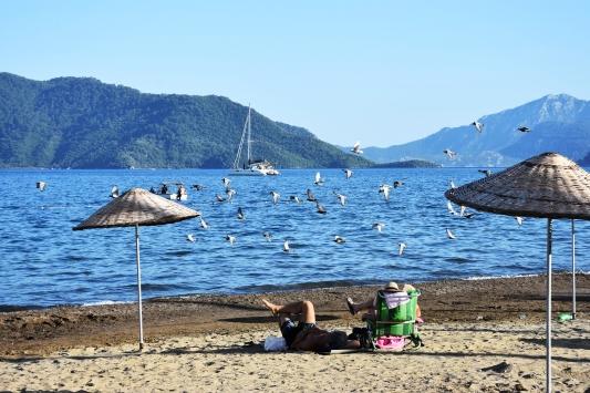 Mavi bayraklı plajlar konuklarını bekliyor