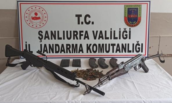 Şanlıurfada silah kaçakçılığı operasyonunda bir zanlı tutuklandı