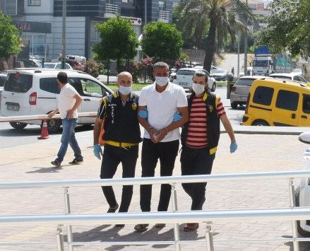 Alanyada kavgada darbedilen kişinin ölümüyle ilgili gözaltına alınan zanlı tutuklandı
