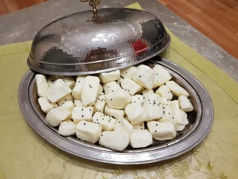Kahramanmaraşın parmak/sıkma peyniri tescillendi