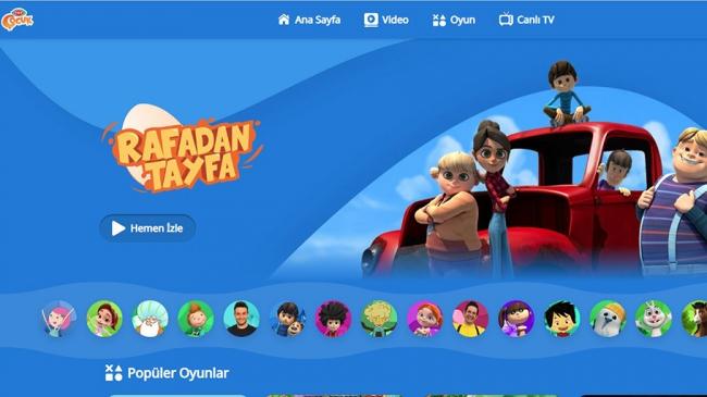TRT Çocuk'un internet sitesi yenilendi