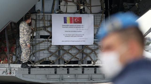 Türkiyeden Çada ikinci tıbbi yardım