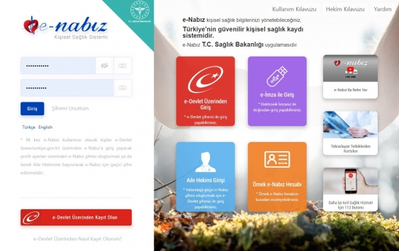 e-Nabız sayfasına nasıl giriş yapılır? e-Nabız kronik hastalık sorgulama...