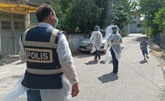 Osmaniyede Kovid-19 tespitine yönelik Toplum Tarama Çalışması başlatıldı