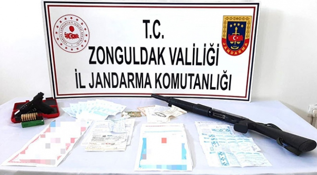 Zonguldakta tefeci operasyonu: 4 gözaltı