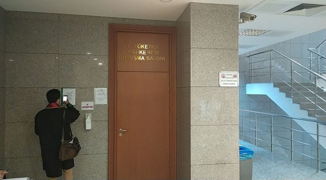 Çağlayanda mahkeme karantinaya alındı