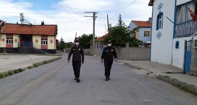 Konyada bir mahallede uygulanan karantina kaldırıldı