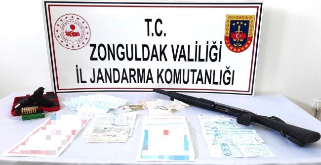 Zonguldakta tefecilik operasyonunda 4 kişi gözaltına alındı