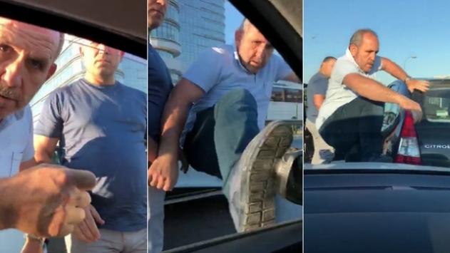 Hamile kadının aracına saldıran kardeşlere hapis